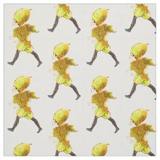 FLOWER CHILD - WILD CUCUMBER FLORAL FAIRY PATTERN FABRIC
