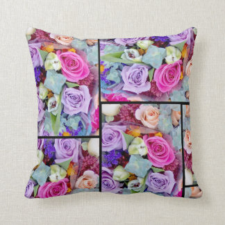 Flower Collage Pillow
