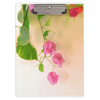 flower collection clipboard