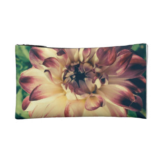 Flower cosmetic bag