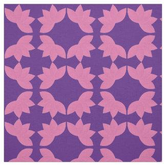 Flower Dance Purple Fabric