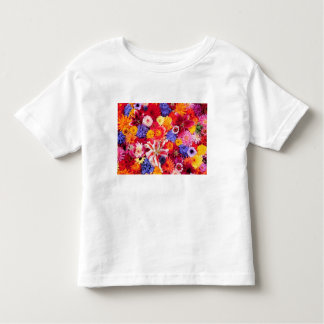Flower design of Dalhia, Oriental Lilies, Toddler T-Shirt