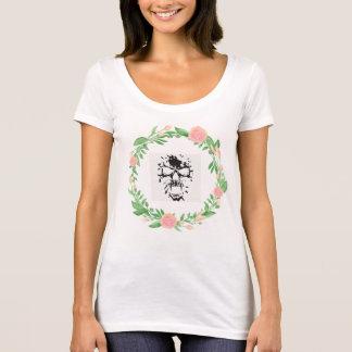 Flower Die Design T-Shirt
