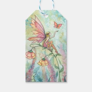 Flower Fairy Fantasy Art Gift Tags
