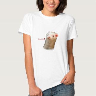 Flower ferret tshirts