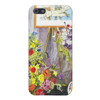 'Flower Festival (Stanhope Forbes)' iPhone 4 Case