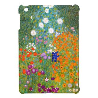 Flower Garden by Gustav Klimt Vintage Floral iPad Mini Cover