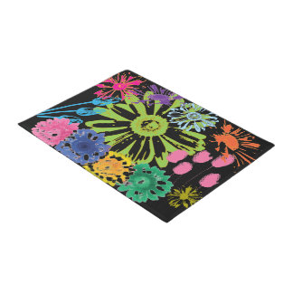Flower Garden Doormat