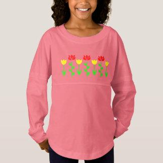 Flower Garden Floral Jersey Shirt