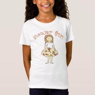 Flower Girl Autumn Wedding T-Shirt