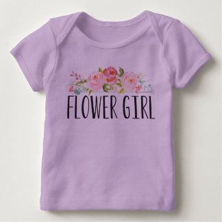 Flower Girl Baby Tee   Bridesmaid