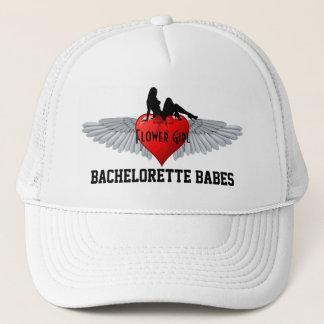 Flower girl bachelorette party trucker hat