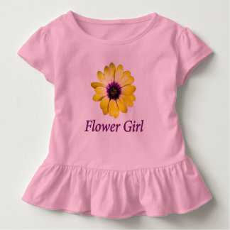 Flower Girl Daisy Wedding Toddler T-Shirt