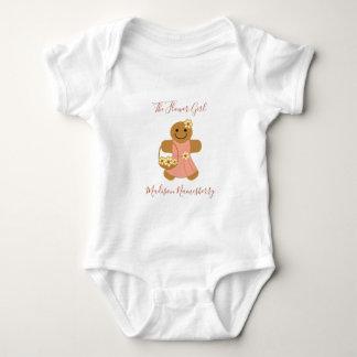 Flower Girl Gingerbread | Baby Bodysuit