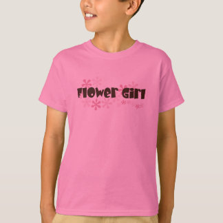 Flower Girl Kids Tee