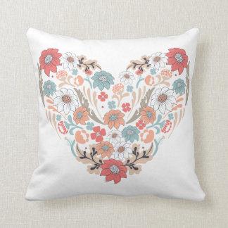 Flower Heart Cushion