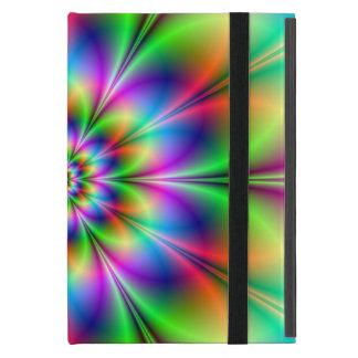 Flower in Neon Powis iCase Case For iPad Mini
