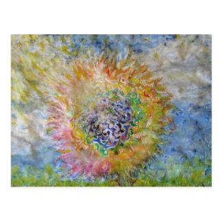Flower in the Sun Postcard