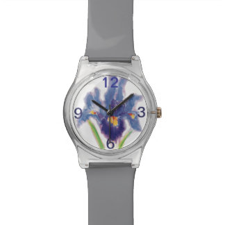 Flower Iris watch