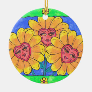 Flower Ladies Ornament