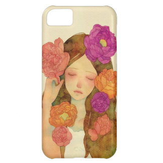 Flower Lady Case For iPhone 5C