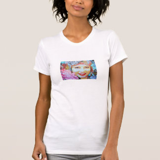 Flower lady in Madeira T-Shirt