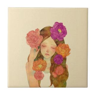 Flower Lady Tiles