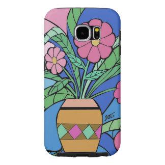 Flower Mosaic Samsung Phone Case