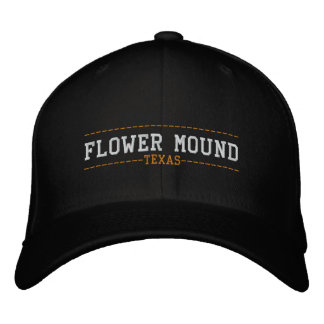 Flower Mound Texas USA Embroidered Hats