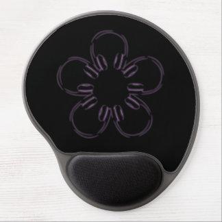 Flower of headphones gel mouse pad