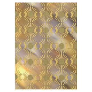 Flower Of Life / Blume des Lebens - Moon Gold Tablecloth