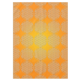 Flower Of Life / Blume des Lebens - stamp white Tablecloth