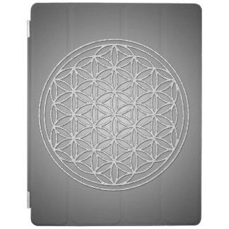 Flower Of Life / Blume des Lebens - white iPad Cover