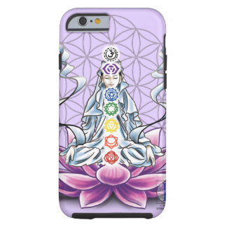 Flower of life, chakra, goddess iPhone case