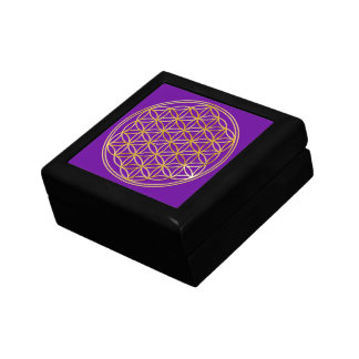 FLOWER OF LIFE - gold Gift Box