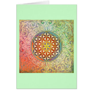 Flower of Life - Ornament I Card