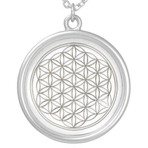 FLOWER OF LIFE - silver Pendants