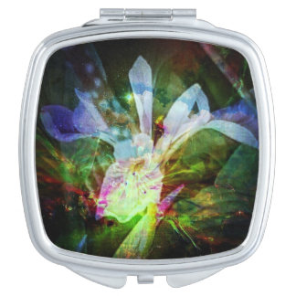 Flower of Paradise Travel Mirror