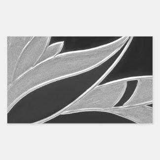 Flower of Victoria Rectangular Sticker