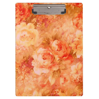 Flower Painting Clipboard