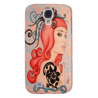Flower PinUp Galaxy S4 Case