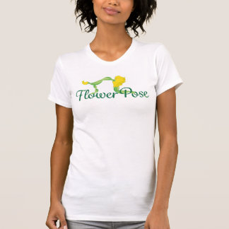 Flower Pose Logo T-shirt