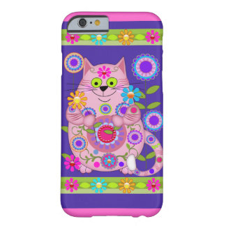 Flower Power Cat Barely There iPhone 6 Case