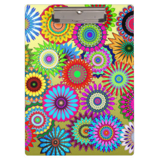 Flower Power Clipboard