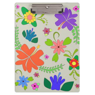 Flower Power Clipboards