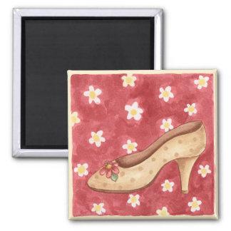 Flower Shoe - Magnet