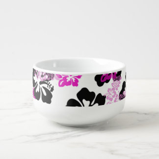 Flower Soup Bowl With Handle