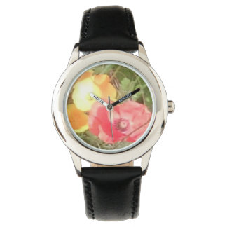 Flower Stainless Watch Blk but u can choose colour