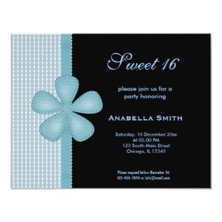 Flower Sweet 16 Card