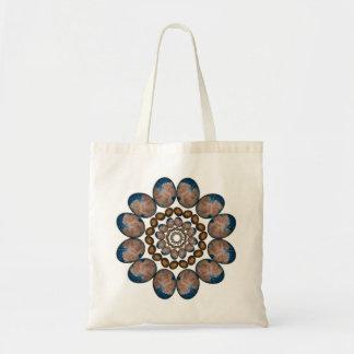 Flower to Infinity Mandala Bags